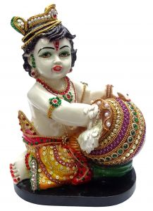 Paras Magic Makhan Chor Krishna Idol(20x15x28  cms)