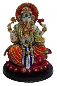 "Paras Magic Lord Ganesha Idol (10X10X14"")"