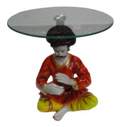 "Paras Magic Rajasthani Man Table(12X12X12.25"")"