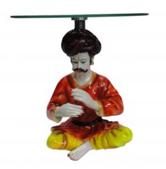"Paras Magic Rajasthani Man Table(12X12X12.25"")"
