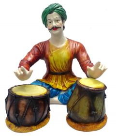 "Paras Magic Tabla Playing Man(9.44x10.62x11.02"")"