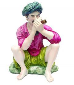 "Paras Magic Rajasthani Man(8.25X7.5X12.5"")"