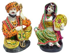 "Paras Magic Rajasthani Couple 1(5X4.5x6.5"")"