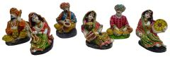 "Paras Magic Rajasthani Couple Set(5X4.5X6.5"")"