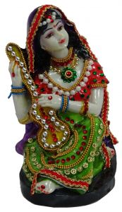 Paras Magic Rajasthani Statue 2 (5X4.5X6.5 inches)