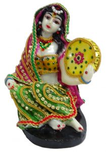 Paras Magic Rajasthani Statue 3 (5X4.5X6.5 inches)