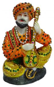 Paras Magic Rajasthani Statue 4 (5X4.5X6.5 inches)