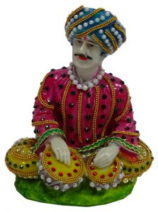 "Paras Magic Rajasthani Statue (5X4.X6.5"")"