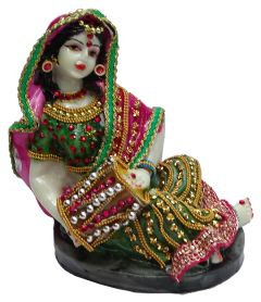 Paras Magic Rajasthani Statue 6 (5X4.5X6.5 inches)