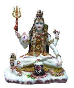 "Paras Magic Sitting Shiv Idol(17.25X15X24"")"