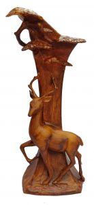 Paras Magic Deer Flower Pot Showpiece (5x5x13.5 inch)