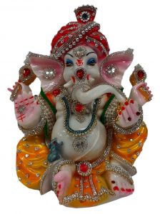 Paras Magic Ganesh Idol (8X7X10.75 inch)