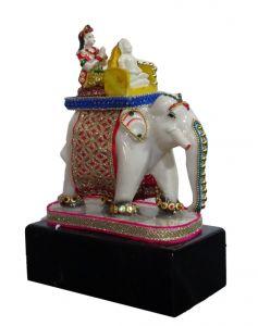 "Paras Magic Airavata Elephant(6.25x3.5x9.75"")"