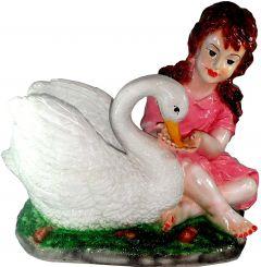 """Paras Magic Swan Girl(16X11X15"""")"""