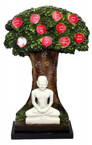 "Paras Magic Ten Jain Dharam Tree(4.25X4.25X18.5"")"