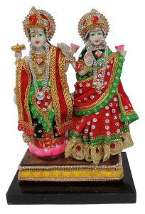 Paras Magic Vishnu Lakshmi Idol (6.25X3.5X9 inch)