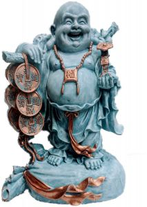 Paras Magic Laughing Buddha (12x7.5x16)