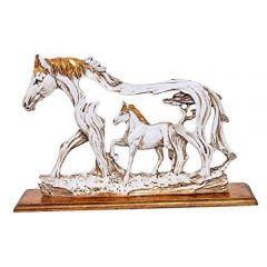 Paras Magic Horse Showpiece (10.5x1.5x7.5 inch)