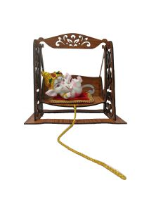 Paras Magic Ganesh Jhula (9x6x8.5 Inch)