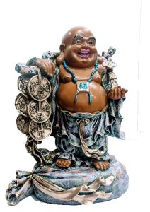 Paras Magic Laughing Buddha (12x7.5x16) inch