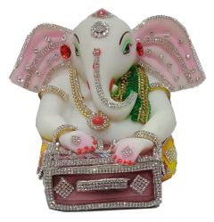 Paras Magic Dholak Ganesh Ji (7.5x5x5inch)