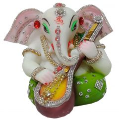 Paras Magic Gittar Ganesh Ji (7.5x6x5 inch)