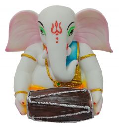 Paras Magic Dholak Ganesh Ji(10x9x8 inch)