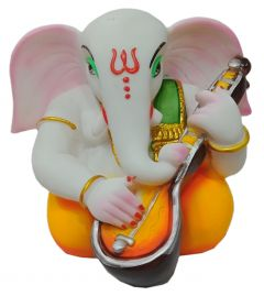 Paras Magic Gitar Ganesh Ji (10x9x8 inch)