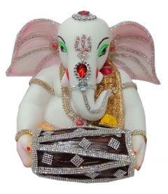 Paras Magic Dholak Ganesh Ji 01(10x9x8 inch)