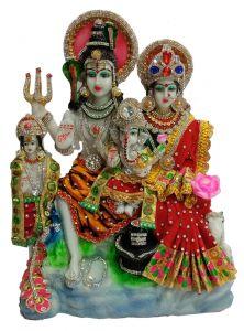 Paras Magic Shiv Parivar with Kartikay (12.25X5.25X15.75 inch)