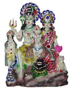 """Paras Magic Shiv Parivar Idol(13.25x5x17.25"""")"""
