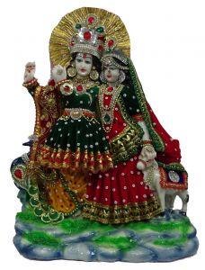 Paras Magic Radha Krishna Ji ((12.5X4X14.25 inch)