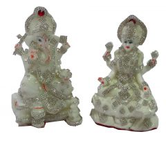 "Paras Magic Lakshmi Ganesh(3.5X3X5.75"")(4X3X5.75"")"