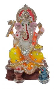 Paras Magic Ganesha Idol (3.5X3X5.75 inches)