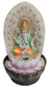 "Paras Magic Ganesha Fountain(10x10x17"")"