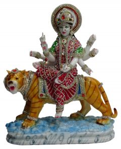 Paras Magic Durga Mata Ji (14.5X6.5x17.5 inch)
