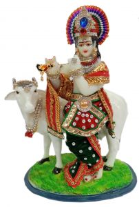 Paras Magic Cow Radha Krishna Ji (9x5.5x12 inch)