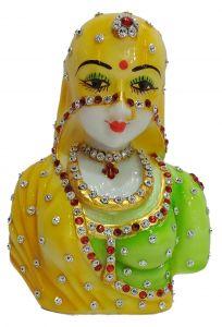 """Paras Magic Indian Lady (5x2.5x6.25"""")"""