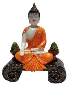 Paras Magic Buddha Showpiece (7x3x9 inch)