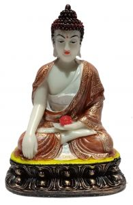 Paras Magic Buddha Showpiece4 (5x3.5x7 inch)