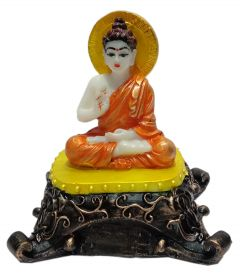 Paras Magic Buddha Showpiece (5x3.5x5 inch)