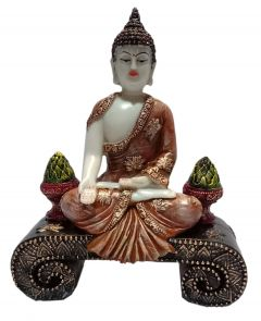 Paras Magic Buddha Showpiece2 (7x3x9 inch)