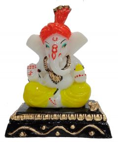 Paras Magic Small Pagdi Ganesh Ji(4.5x3x6 inch)