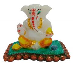Paras Magic Small Ganesh Ji (4x3x3.5 inch)