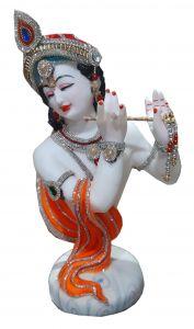 Paras Magic Chirag Pagdi Krishna Ji (10.5x7.15x18.75 inch)