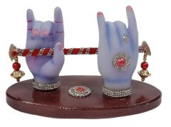 Paras Magic Krishna Hand with Flute (7x3.5x4.5 inch)