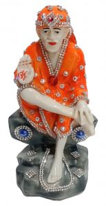 Paras Magic Sai Baba Idol (4X2.75X7inch)