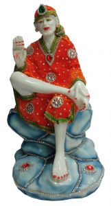 Paras Magic Sai Baba Ji (7.5X6.75X14.5 inch)