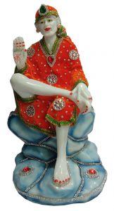 Paras Magic Sai Baba Ji (7.5X6.75X14.5 inch)