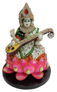 Paras Magic Lotus Saraswati (8.5X8.5X11 inch)